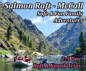 Salmon Raft Company - whitewater adventurers : Rafting trips with fun & knowledgeable guides on the Salmon River. Offering 1/2- and Full-Day trips, multi-day adventures that include hiking, plus fishing and candlelight dinner cruises. Lots of fun options for families and larger groups.