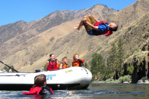 Salmon Raft Trips
