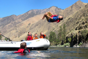 Salmon Raft Company - fun family vacations