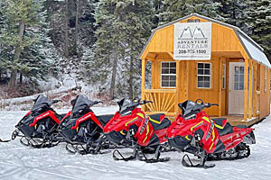 Snowmobile Rentals and Guided Tours