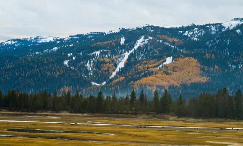 Tamarack Ski Resort in late Autumn