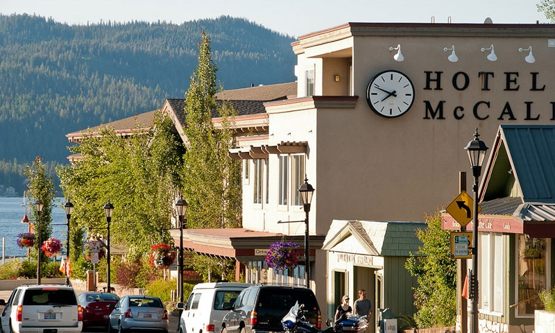 Downtown McCall Idaho