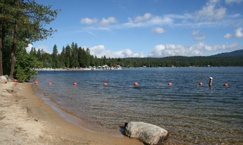 Payette Lake near McCall Idaho