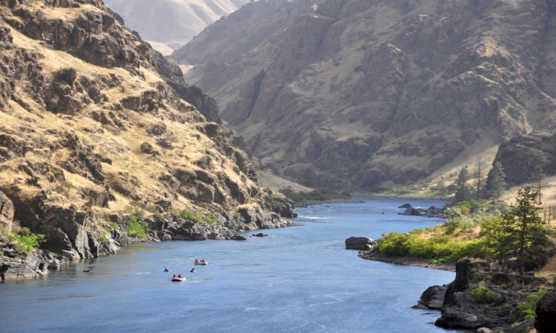 Mccall Idaho Hells Canyon National Recreation Area Rafting Snake River