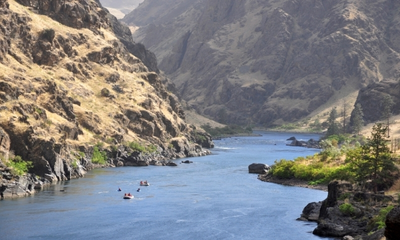 Hells Canyon along the Idaho Oregon Border
