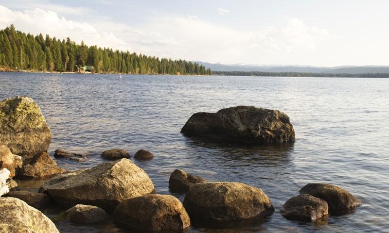 Lake in McCall Idaho