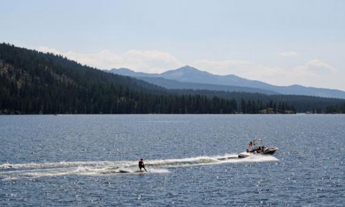 Payette Lake McCall Idaho Waterskiing