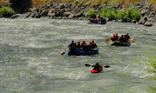 McCall Whitewater Rafting