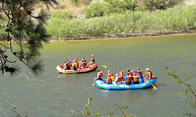 McCall White Water Rafting Payette River