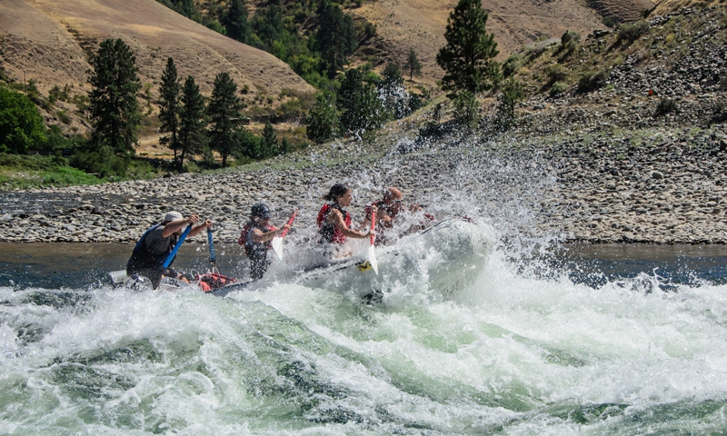McCall Whitewater Rafting Salmon River