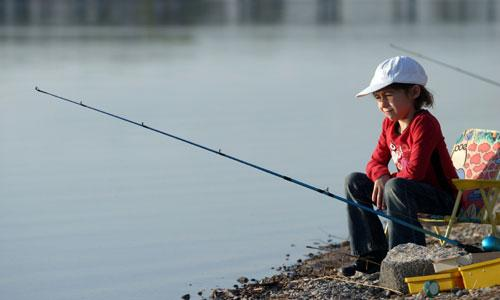 McCall Idaho Kids Fishing