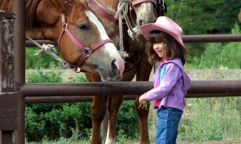 McCall Idaho Kids Horseback Riding