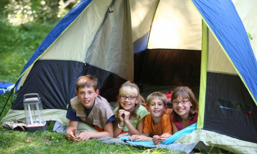 McCall Idaho Kids Camping