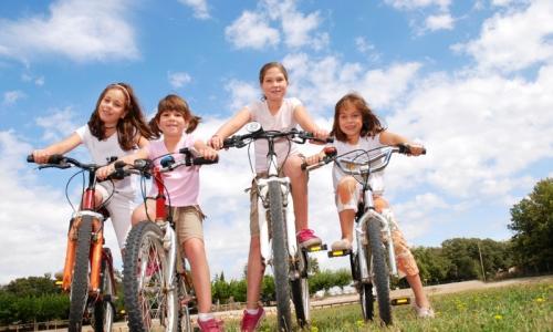 McCall Idaho Kids Biking