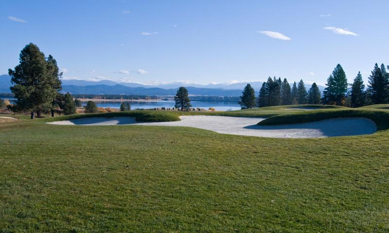 Tamarack Golf Course near McCall Idaho