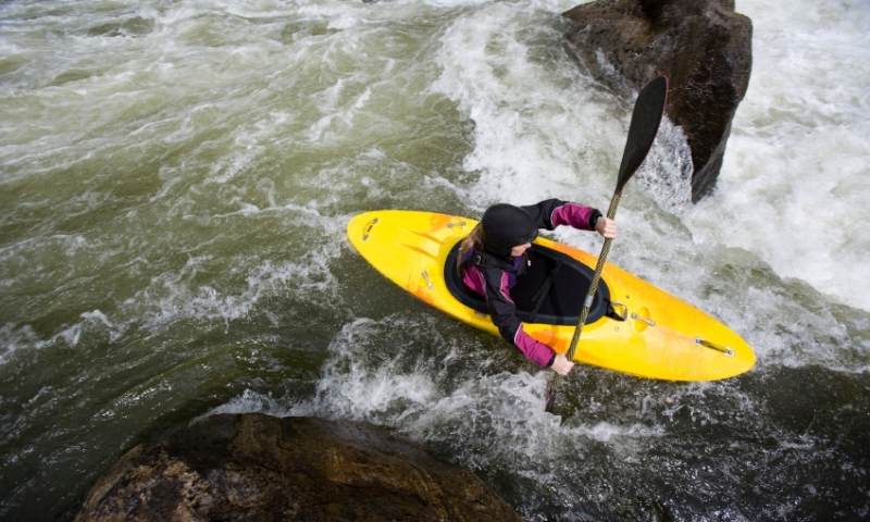 Kayaking the Payette River