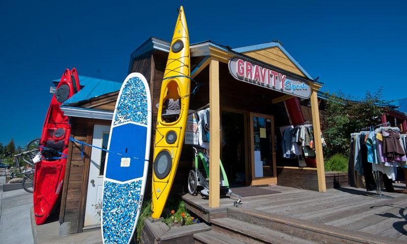 Boat Rental Shop at Payette Lake