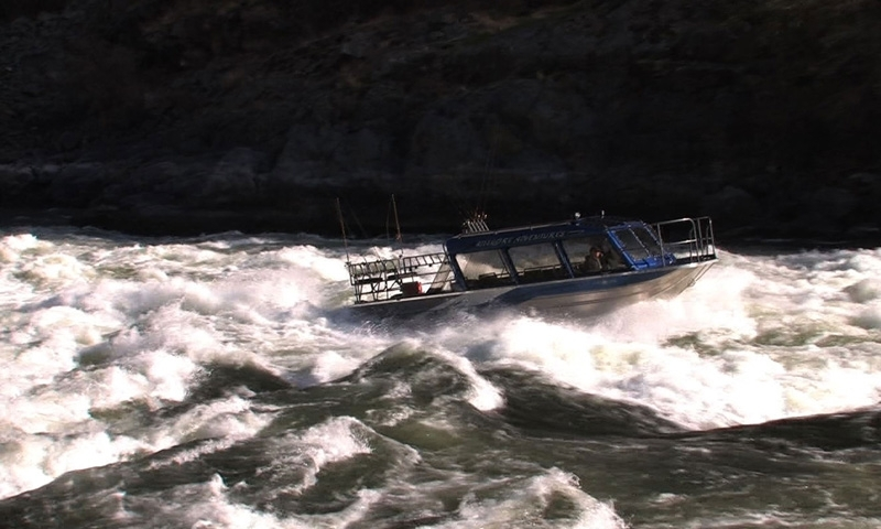 Jet Boating through Hells Canyon