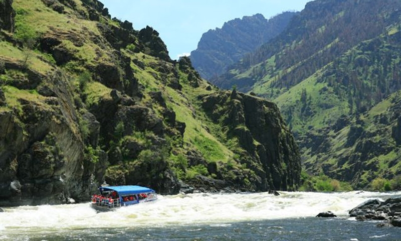 McCall Boating in Hells Canyon