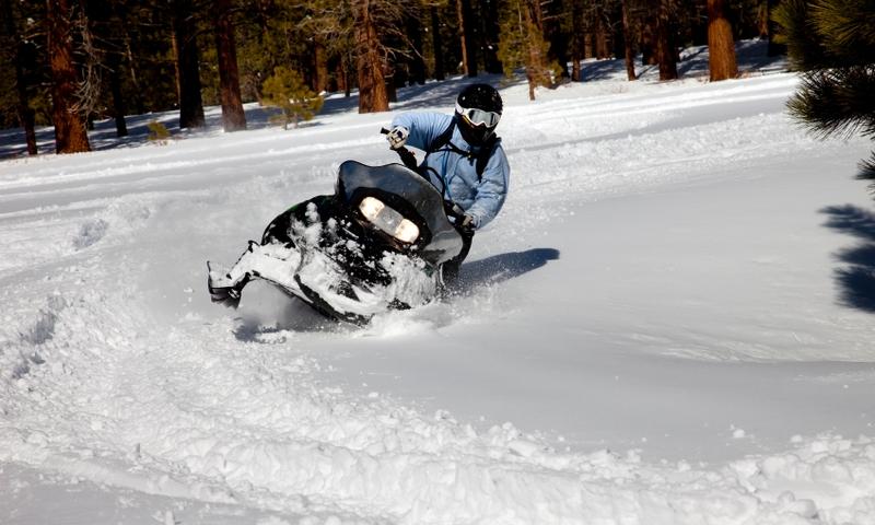 Snowmobiling California Mammoth Mountain Mammoth Lakes