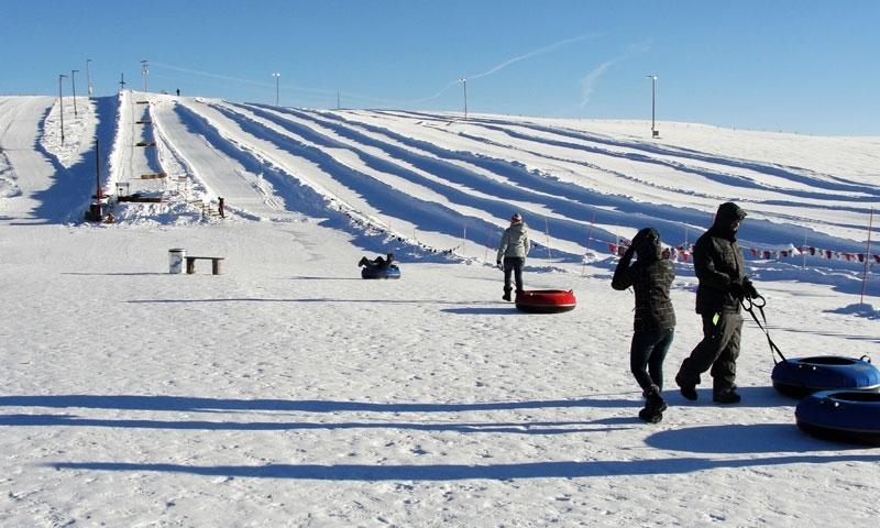 McCall Idaho Snow Tubing